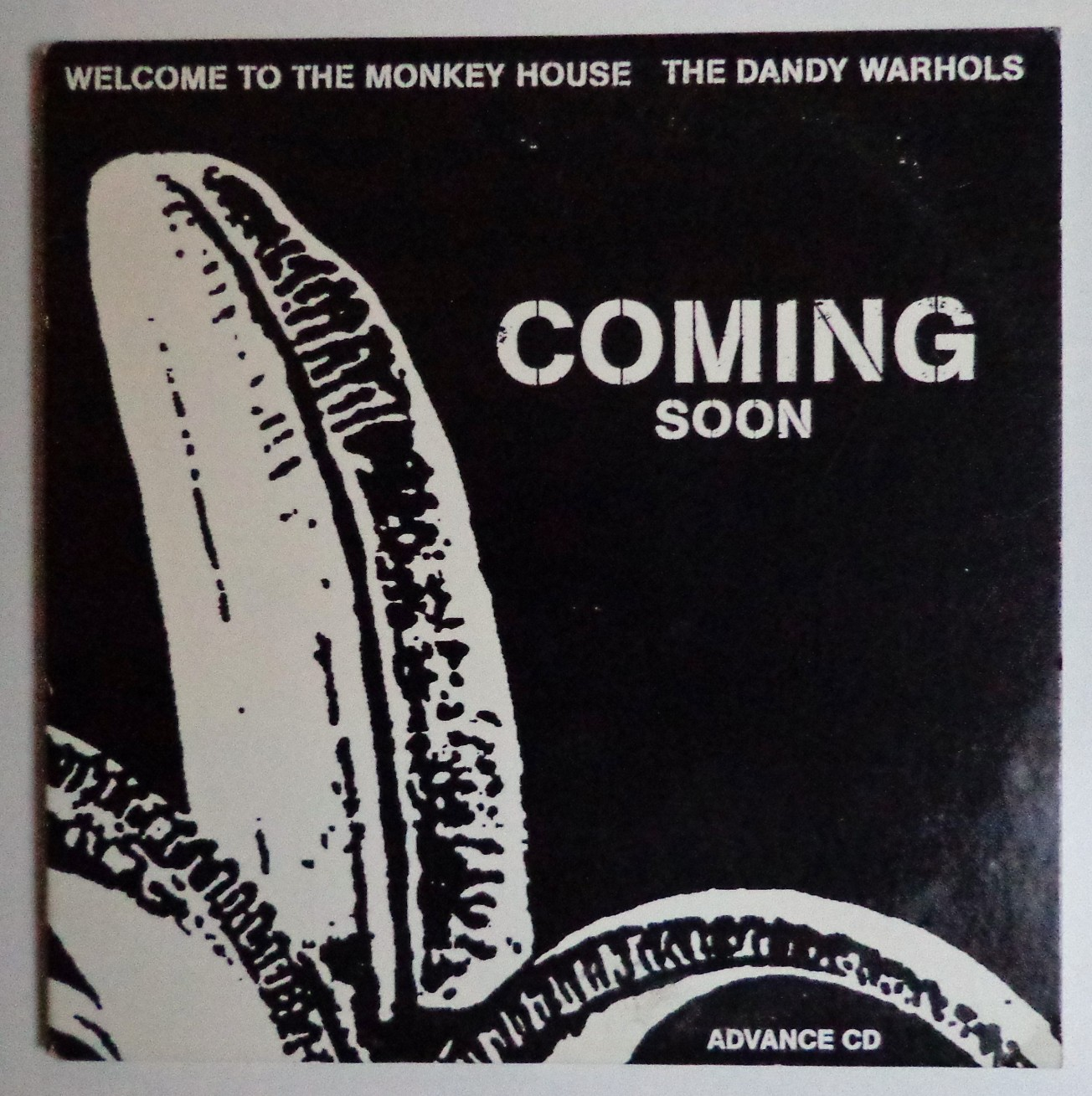 Dandy Warhols promo cd