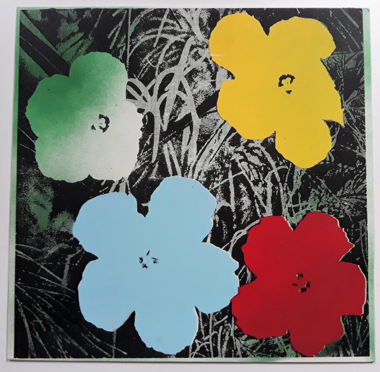 flowers flowers flowers andy warhol series