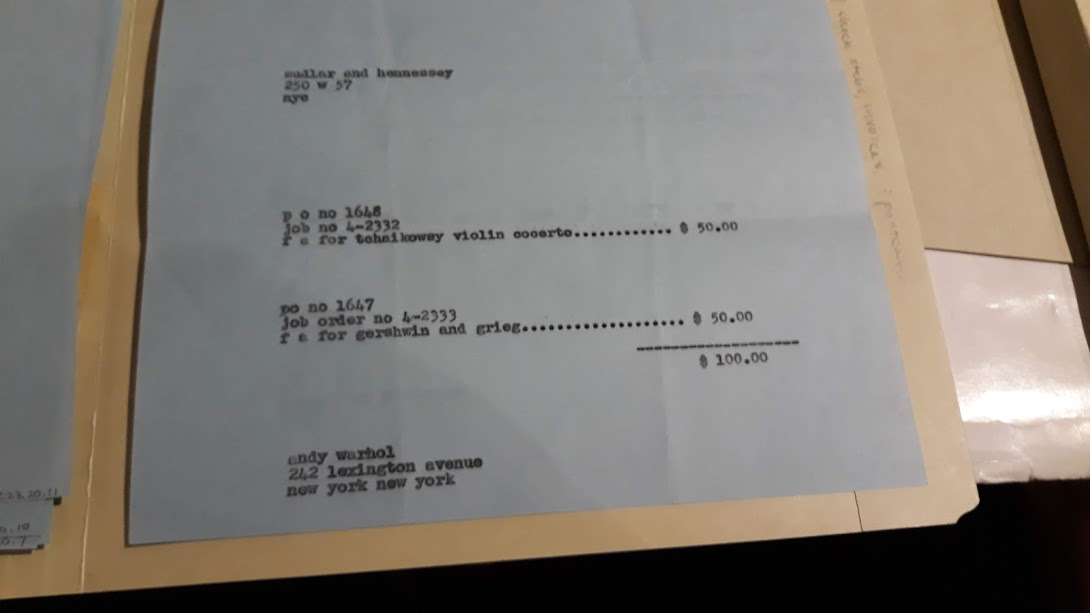 aw bluebird invoice 2 records